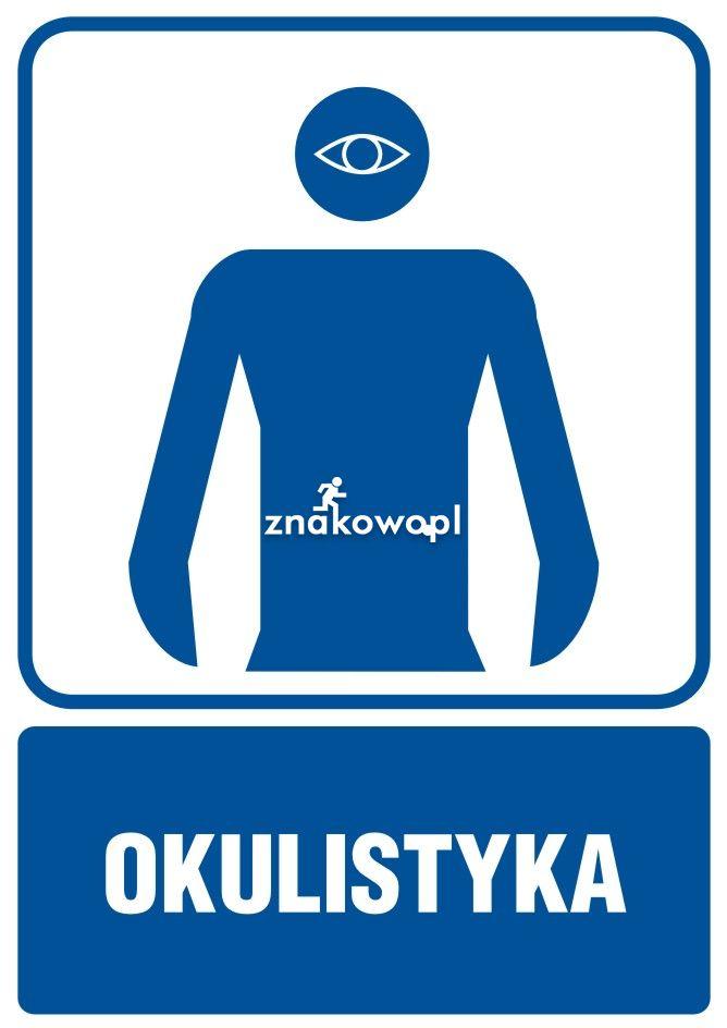 Okulistyka - Placówki służby zdrowia – oznaczenia