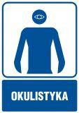 Okulistyka - znak informacyjny - RF009 - Placówki służby zdrowia – oznaczenia