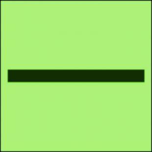 Oznaczenie kategorii B - znak morski - FI002