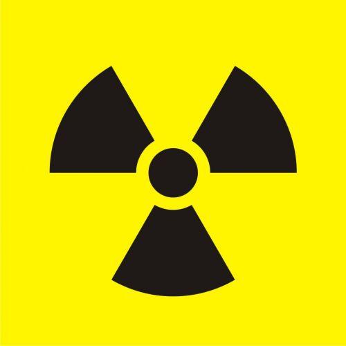 Oznakowanie opakowania źródła promieniowania - znak uzupełniający - znak bezpieczeństwa, ostrzegający, promieniowanie - KA022 - Promieniowanie jonizujące – bezpieczeństwo i znaki