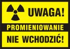 PA011 - Uwaga! Promieniowanie - nie wchodzić