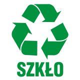PA052 - Szkło 1 - znak informacyjny, segregacja śmieci - Gdzie ustawić śmietnik na posesji?