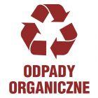 PA057 - Odpady organiczne 1 - znak informacyjny, segregacja śmieci