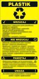 PA087 - Instrukcja segregacji odpadów - plastik - segregacja śmieci - Pojemniki na odpady. Jak je oznaczamy?