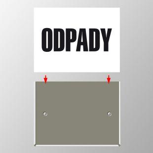 PA094 - Uchwyt mocujący do mobilnej tablicy oznaczenia środków transportujących odpady