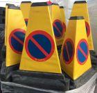 Pachołek 3D AntyParking 51cm - trójstronny zakaz parkowania