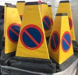 Pachołek 3D AntyParking 51cm - trójstronny zakaz parkowania - Blokady parkingowe – przepisy