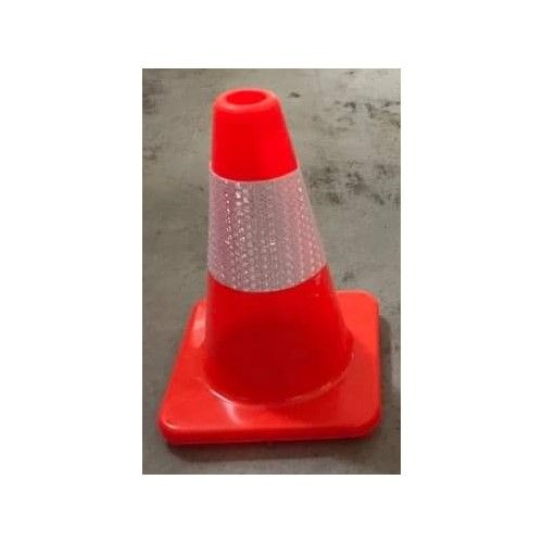 Pachołek drogowy ostrzegawczy 30cm U-23d, gumowy, lekki 0,56kg - Pachołki drogowe