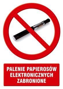 Palenie papierosów elektronicznych zabronione