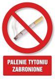 Palenie tytoniu zabronione 1 - znak informacyjny - PC102 - Obiekty handlowe – znaki bezpieczeństwa i tablice informacyjne