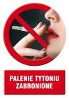 Palenie tytoniu zabronione 2 - znak informacyjny - PC500