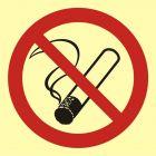 Palenie tytoniu zabronione - znak przeciwpożarowy ppoż - BA001