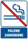 Palenie zabronione - znak informacyjny - RB503