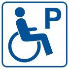 Parking dla inwalidów - znak informacyjny - RA073