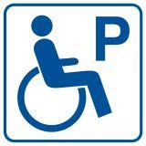 Parking dla inwalidów - znak informacyjny - RA073 - Odległość miejsc postojowych od okien budynków