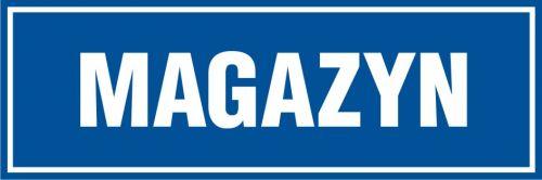 PB004 - Magazyn - znak informacyjny - Magazynowanie materiałów i innych przedmiotów