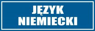 PB146 - Język niemiecki - znak informacyjny