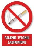 PC102 - Palenie tytoniu zabronione 1 - znak informacyjny - Obiekty handlowe – znaki bezpieczeństwa i tablice informacyjne