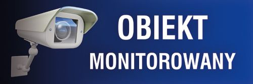 PC601 - Obiekt monitorowany - znak informacyjny - Monitoring przemysłowy
