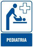 Pediatria - znak informacyjny - RF008 - Placówki służby zdrowia – oznaczenia