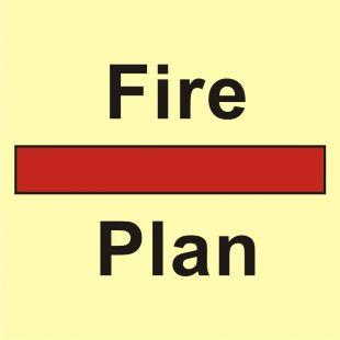 Plan urządzeń ppoż. lub strukturalnej ochrony ppoż. - znak morski - FI046