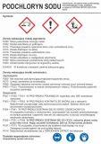 Podchloryn sodu - etykieta chemiczna, oznakowanie opakowania - LC014 - Substancje chemiczne – oznakowanie