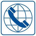 Połączenie międzynarodowe - znak informacyjny - RA037
