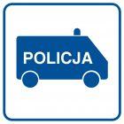 Policja - znak informacyjny - RA082