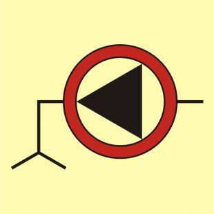 Pompa zęzowa awaryjna - znak morski - FA020