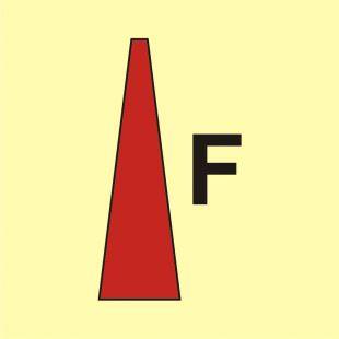 Prądnica pianowa - znak morski - FA014
