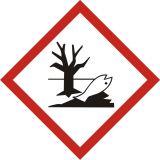 Produkt niebezpieczny dla środowiska - znak piktogram GHS 09 CLP - Magazynowanie odpadów medycznych