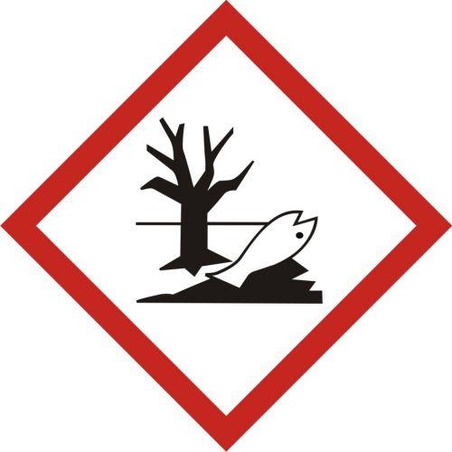 Produkt niebezpieczny dla środowiska - znak piktogram GHS 09 CLP - LF009 - Substancje chemiczne – oznakowanie