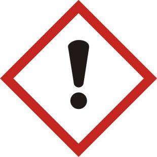 Produkt zagrażający zdrowiu - znak piktogram GHS 07 CLP