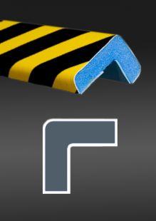 Profil ochronny ostrzegawczy czarno - żółty