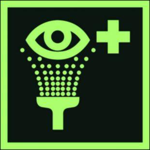 Prysznic do przemywania oczu - znak ewakuacyjny - AAE011
