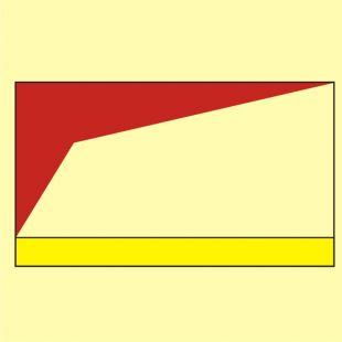 Przewód do dostarczania piany o dużej rozszerzalności (przyłącze) - znak morski - FI088