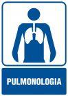 Pulmonologia - znak informacyjny - RF016