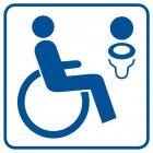 RA023 - Toaleta dla inwalidów 2 - znak informacyjny