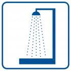 RA025 - Prysznic - znak informacyjny