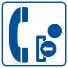 RA035 - Telefon na żetony - znak informacyjny