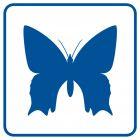 RA099 - Rzadkie okazy motyli - znak informacyjny