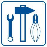RA104 - Dbaj o porządek na stanowisku pracy - znak informacyjny - Stanowiska pracy – wymagania