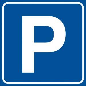 RA117 - Parking - znak informacyjny - Tablice rozdzielające