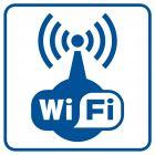 RA521 - Strefa Wi-Fi - znak informacyjny