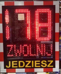 Radar drogowy, pomiar prędkości, statystyki Speed LUX 230V