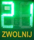 Radarowy wyświetlacz prędkości, radar drogowy Eco LUX z panelem solarnym