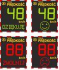 Radarowy wyświetlacz prędkości, radar drogowy MP-DP1