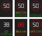 Radarowy wyświetlacz prędkości, radar drogowy MP-DP5