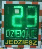 Radarowy wyświetlacz prędkości, radar drogowy Speed LUX z panelem solarnym - Urządzenia do kontroli ruchu drogowego