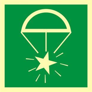 Rakieta spadochronowa - znak morski - FB053